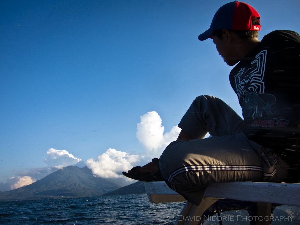 Lago de Atitlan Lancha