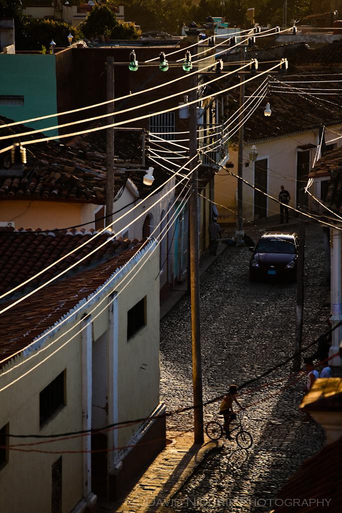 Dusk in Trinidad, Cuba