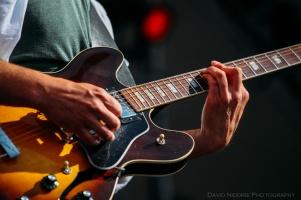 Vancouver Folk Music Festival - Strumming the Guitar
