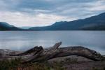 Sunset on Mahood Lake, Wells Gray Park, British Columbia.