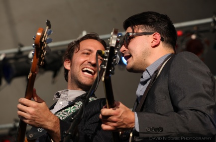 The Expressions perform at Vancouver Folk Music Festival 2016