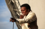 Lee Fields performs at Vancouver Folk Music Festival 2016