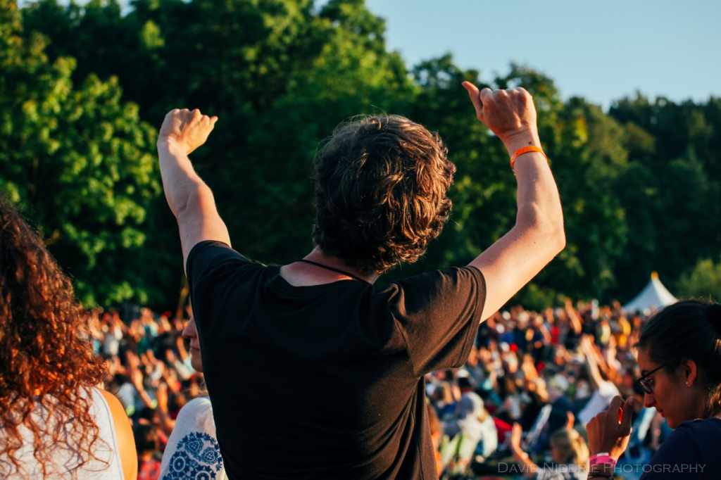 rooving at Vancouver Folk Music Festival 2016