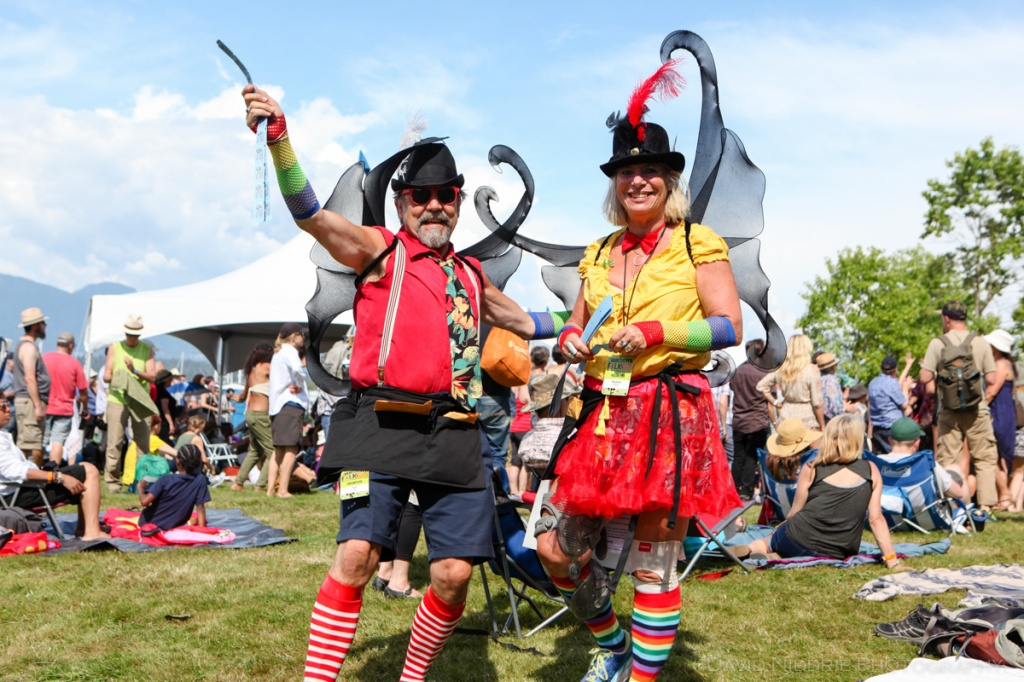 Rafflers at Vancouver Folk Music Festival.