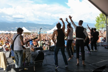 Get up and jump at Vancouver Folk Music Festival.