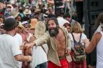 Crowd fun at Vancouver Folk Music Festival.