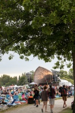 Main Stage at Vancouver Folk Music Festival.
