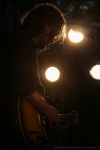 Country singer Hayes Carll at the Vancouver Folk Music Festival.