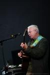 Bruce Cockburn performs at Vancouver Folk Music Festival.